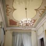 decorazione soffitto e pareti sala barocca